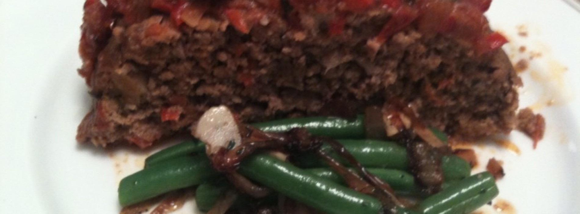 Meatloaf with Tomato Relish