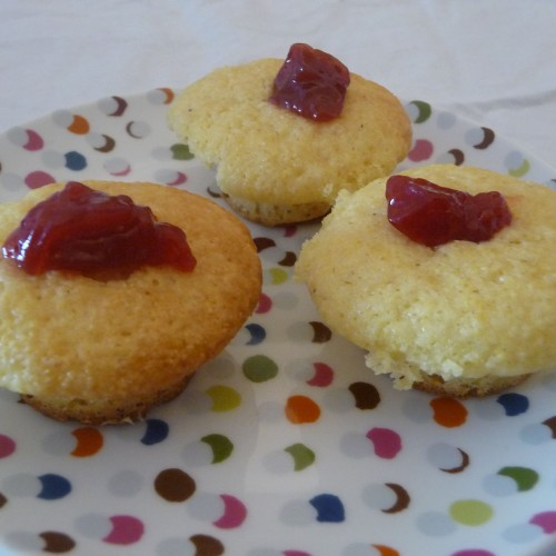 Thumbprint Corn Muffins