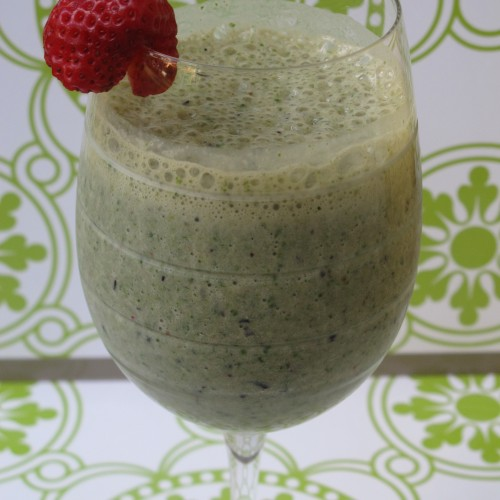 Kale and Berry Smoothie