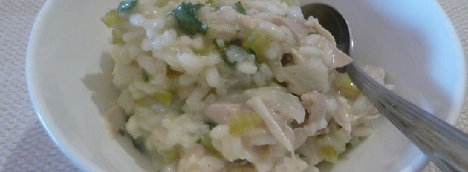 Roast Chicken Risotto