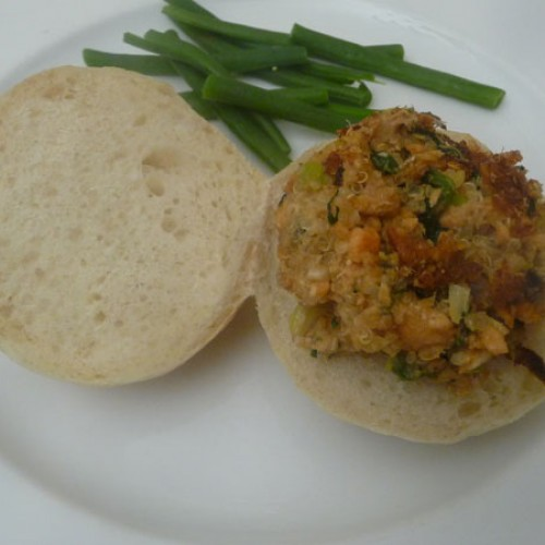 Immune Boost Week: Salmon Sloppy Joes