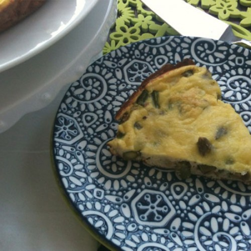 Seasonal Veggie Week: Asparagus and Parmesan Frittata