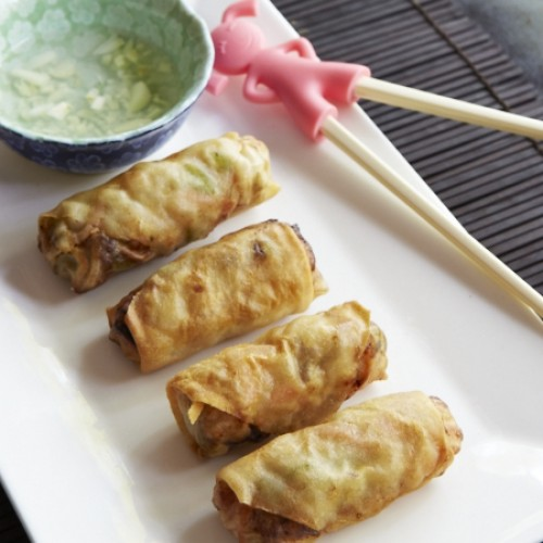 Chef Notes: Homemade Egg Rolls