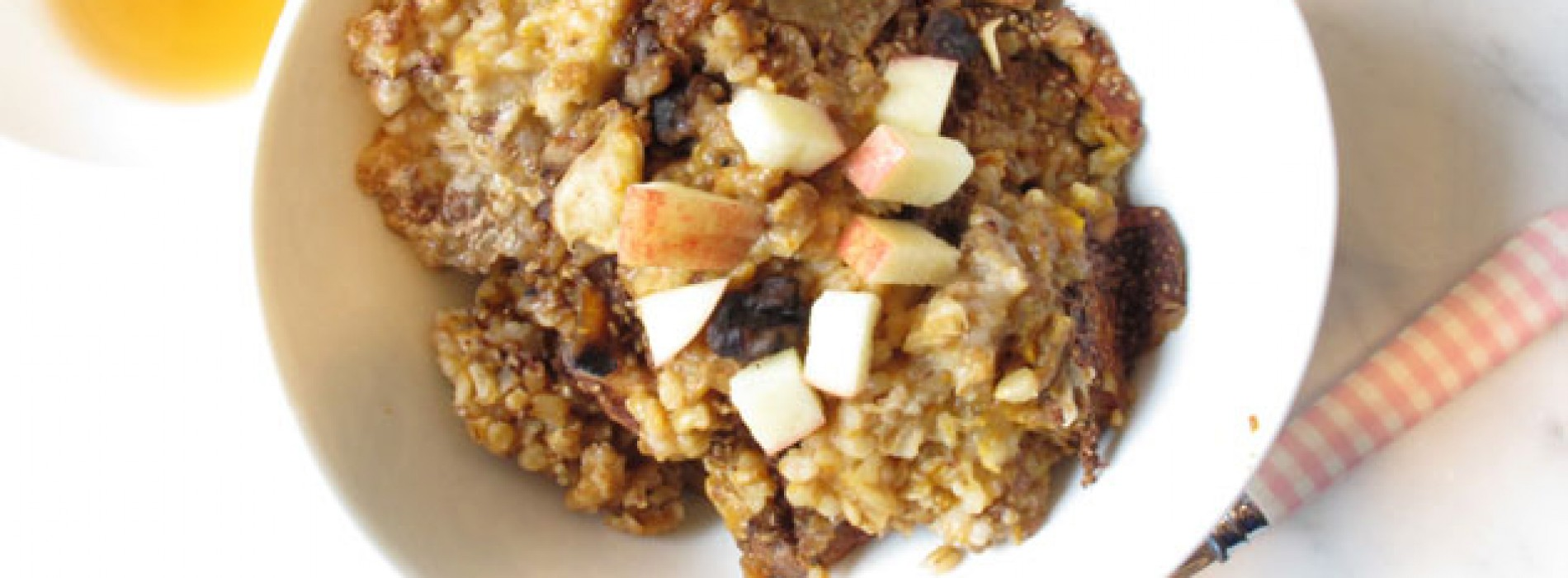 Pumpkin and Spiced Apple Slow Cooked Oats