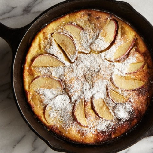 Skillet Apple Pancake