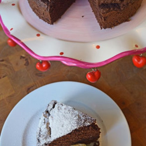 Lisa's Letters Home: Coconut Flour Chocolate Cake