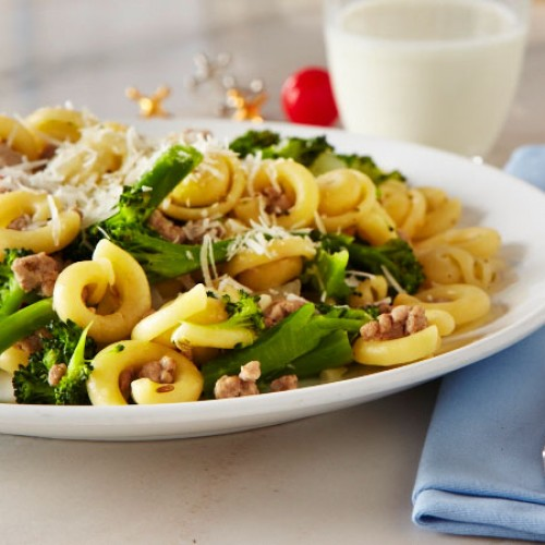 Orecchiette and Turkey with Broccoli Pasta