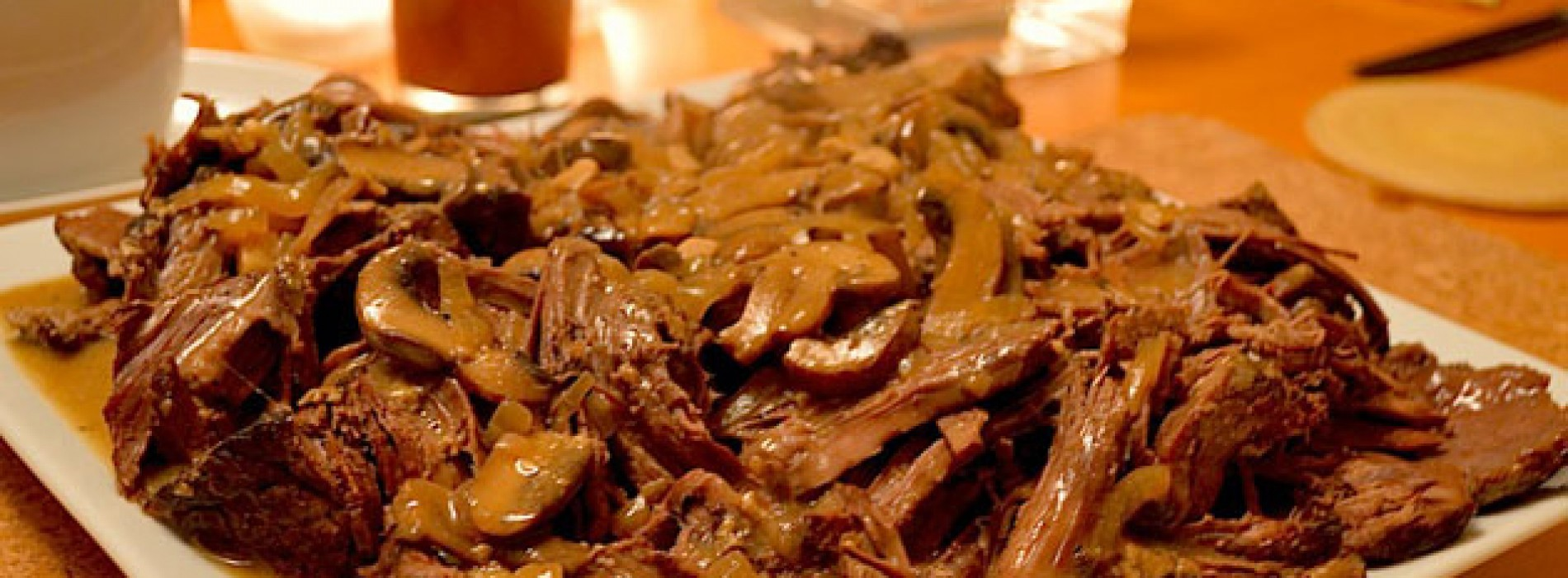 Lisa's Letters Home: Beef With Mushroom Sauce