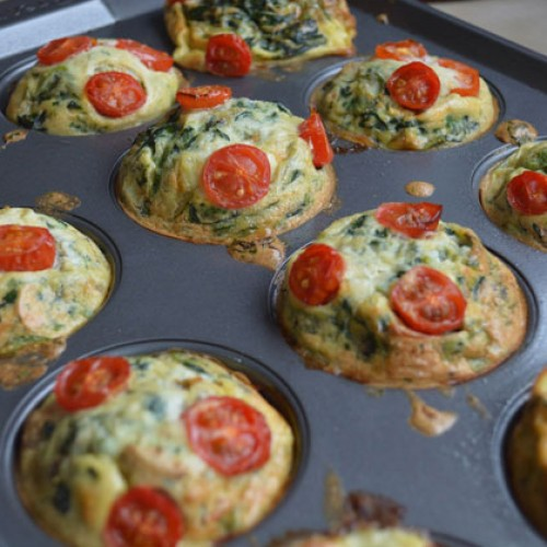 Lisa's Letters Home: Mini Breakfast Frittatas to Go!