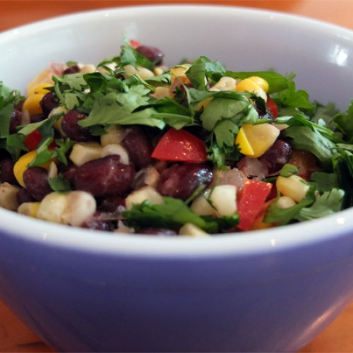 Gluten Free Black Bean and Corn Salsa