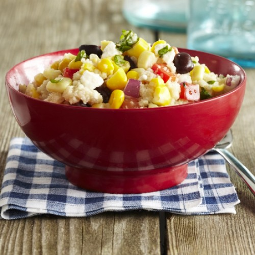 Corn and Black Bean Cous cous