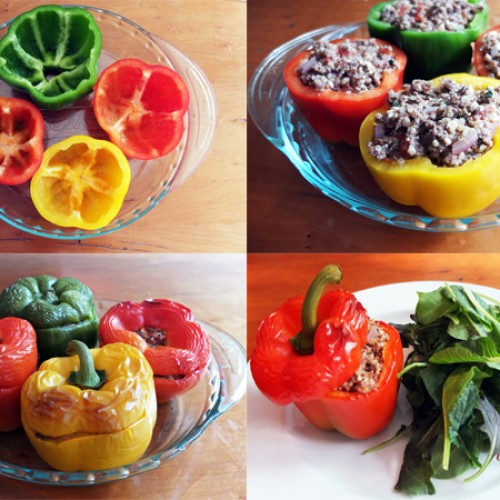 Gluten Free Stuffed Peppers
