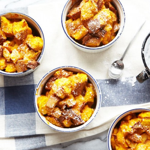 Pumpkin Week: Pumpkin Bread Pudding