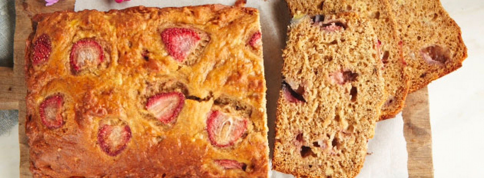 Netflix & SPC: Banana Strawberry Bread