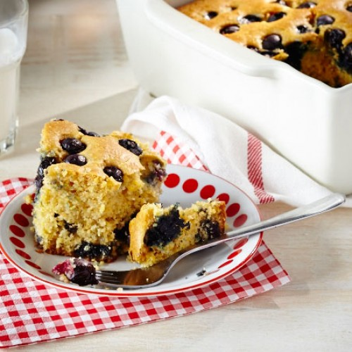 Blueberry Week: Blueberry Cornbread