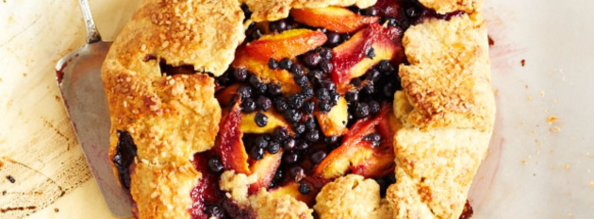 Peach & Blueberry Crostata
