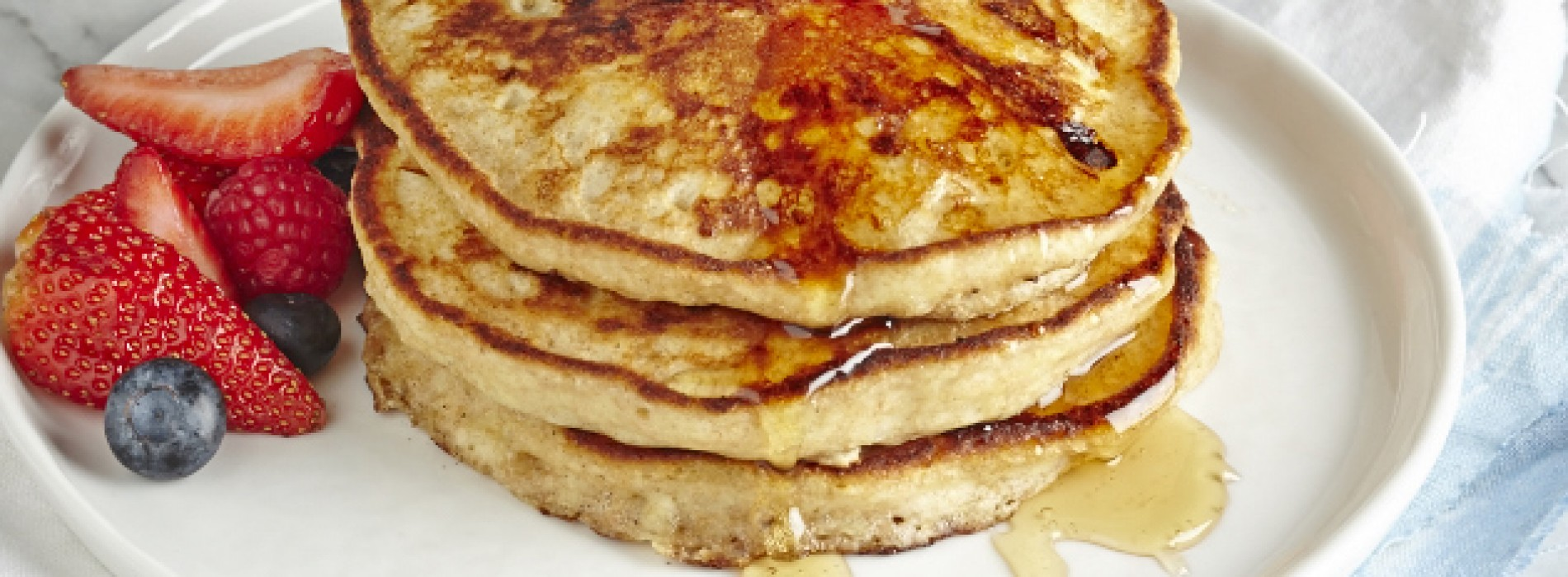 Protein Pancakes with Cottage Cheese