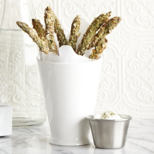 Spring Greens Week: Crunchy Asparagus Fries