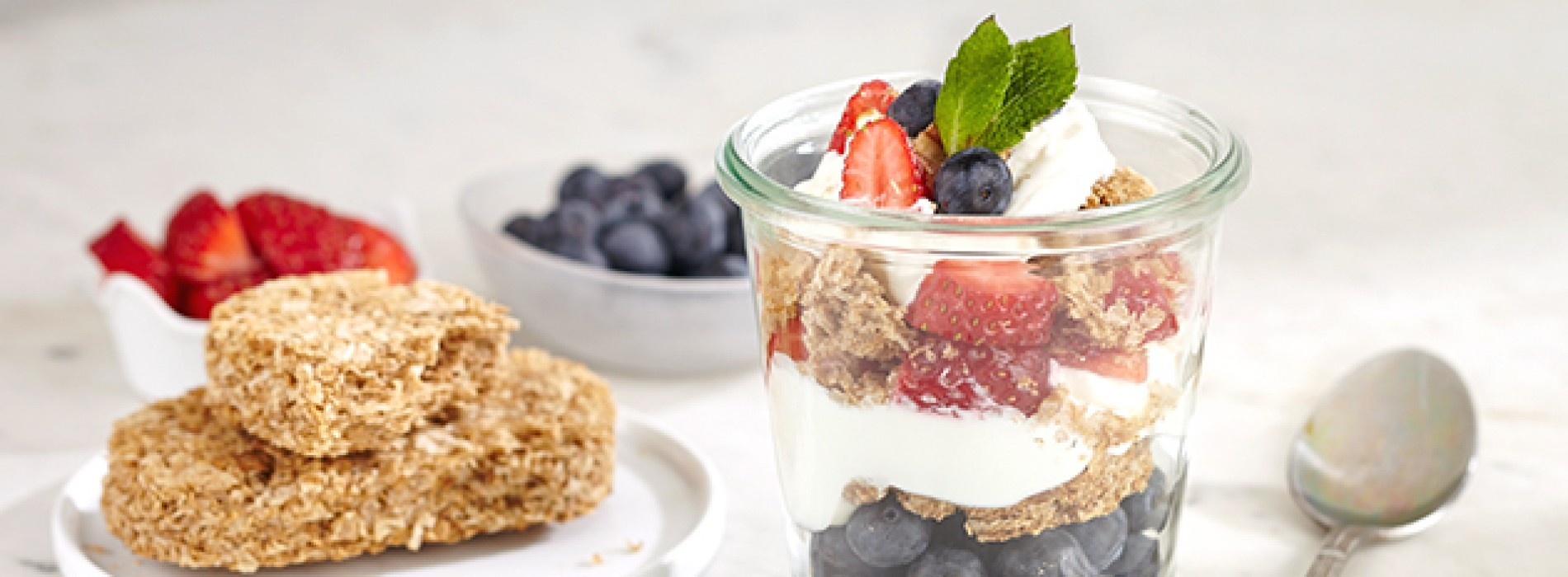 Sponsored Post: Weetabix Blueberry Parfait