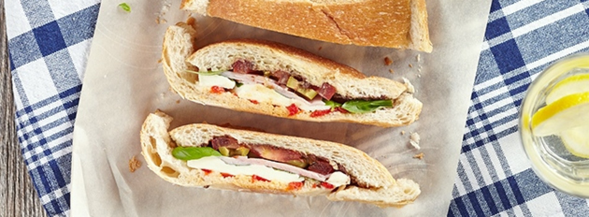 Muffaletta (or the ultimate picnic sandwich)