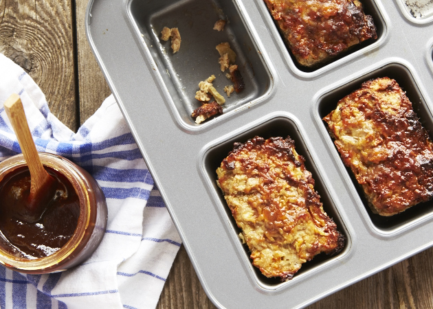 Turkey Meatloaf with Apple and Sage