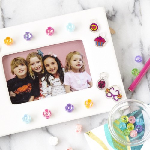 SPC & Netflix: Classic Shrinky Dink Craft Dresses Up a Picture Frame