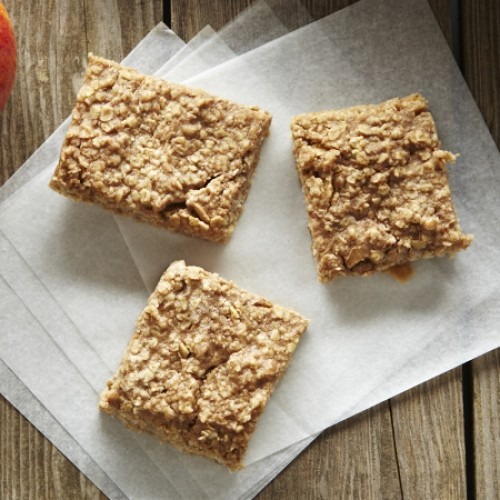 Apple and Pear Oat Bars
