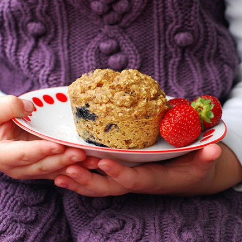 Wholegrain Blueberry Muffins