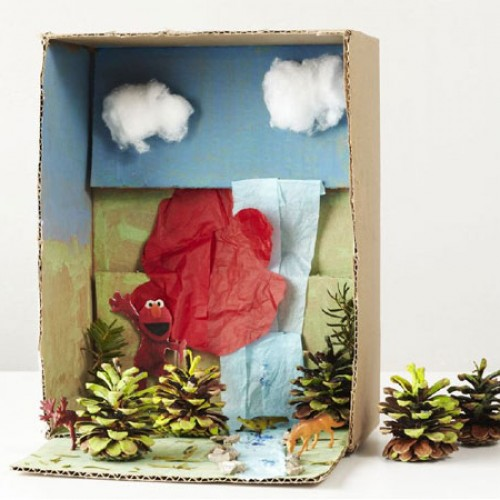 Netflix & SPC: Get Crafty for Earth Month with Our Easy Diorama