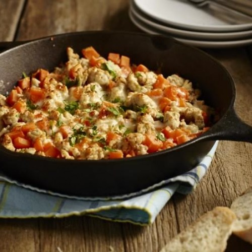 Turkey and Sweet Potato Skillet Dinner
