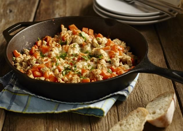 Turkey Sweet Potato Skillet