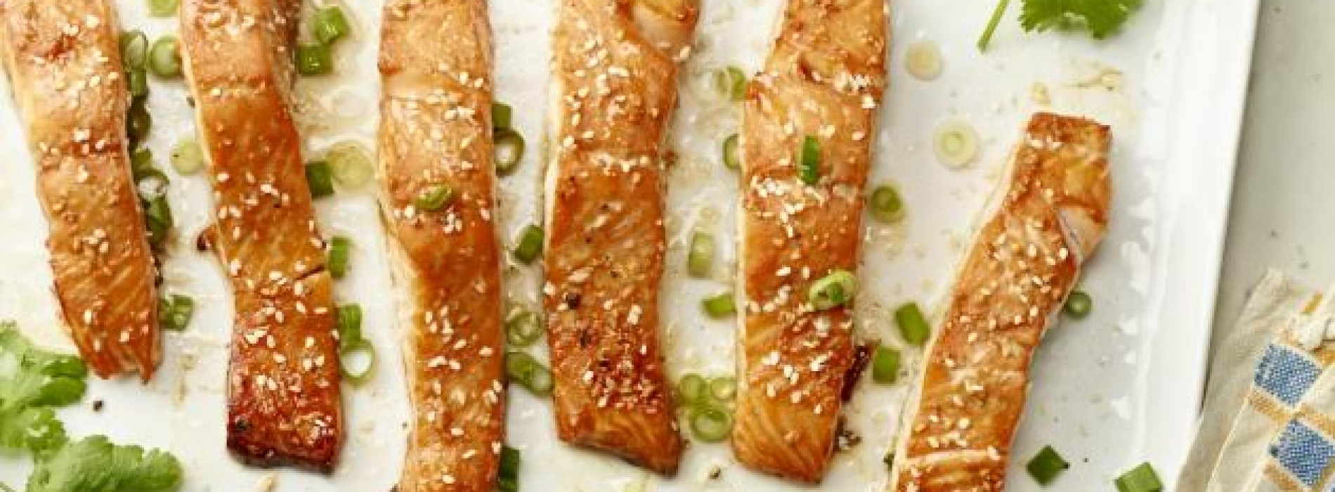 Simple Sweet and Spicy Salmon