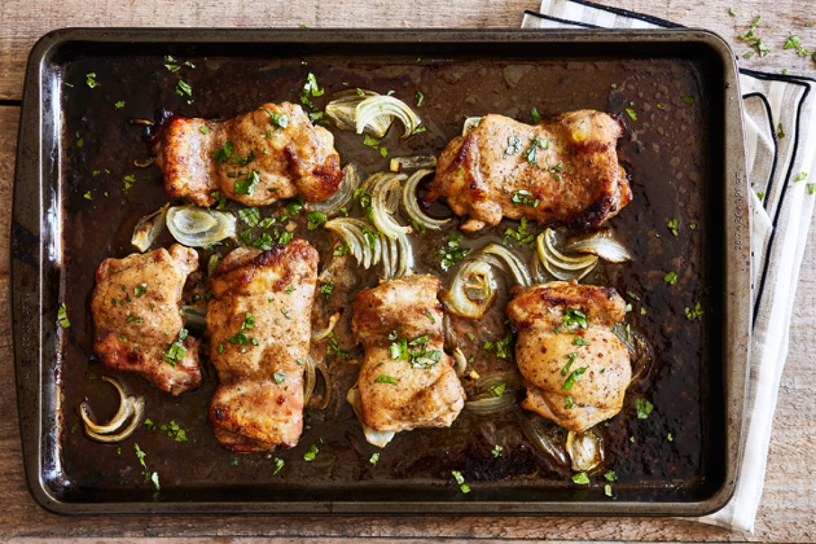 Chinese 5-Spice Chicken Tray Bake