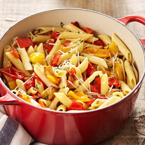 Roasted Pepper Penne