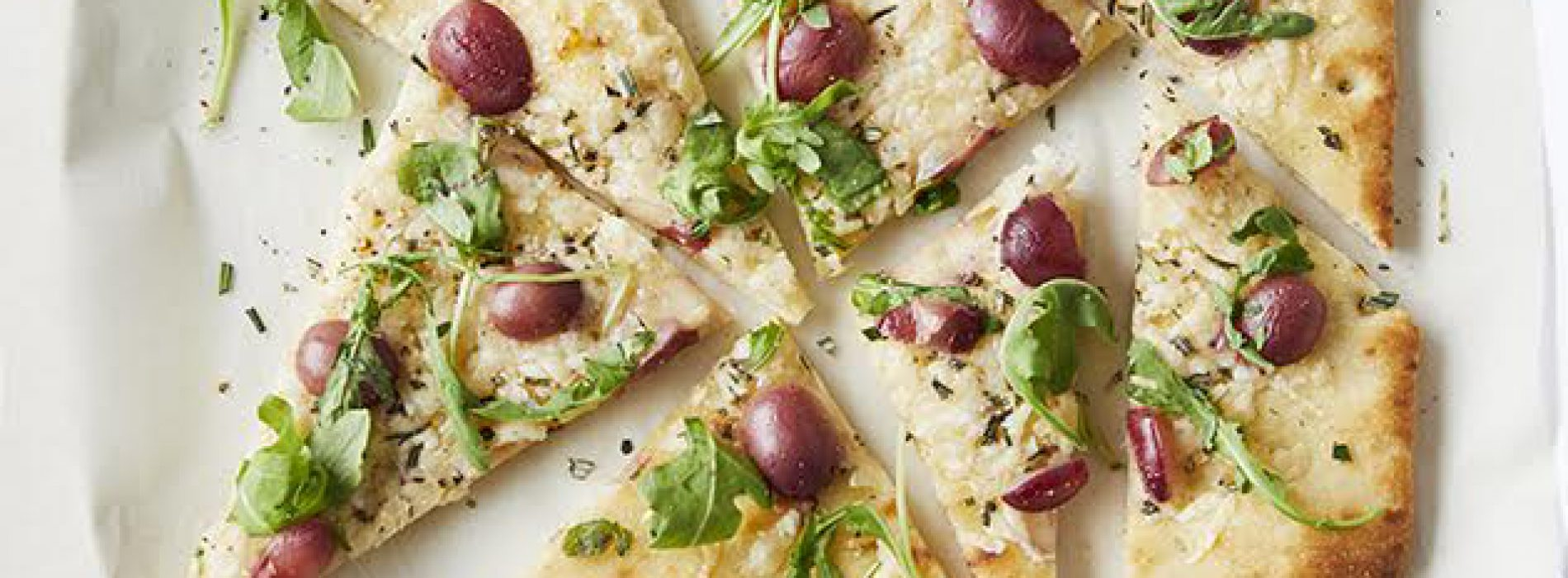Grape and Parmesan Flatbread