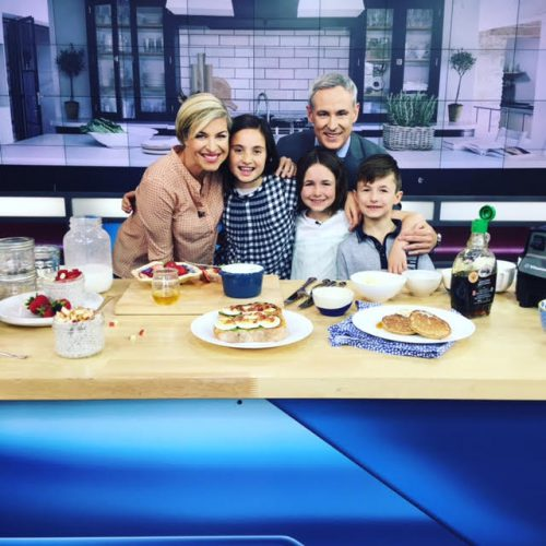 Our Kids Make Brunch for the Global Morning Show Crew