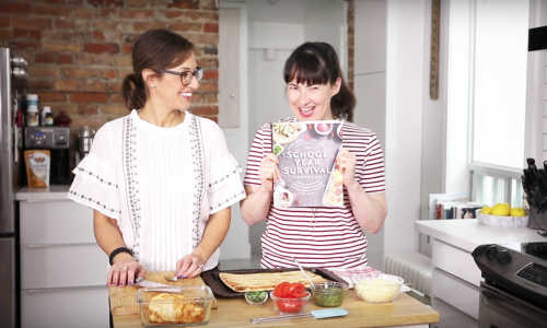 The School Year Survival Cookbook Series: Turning leftovers into Tacos.
