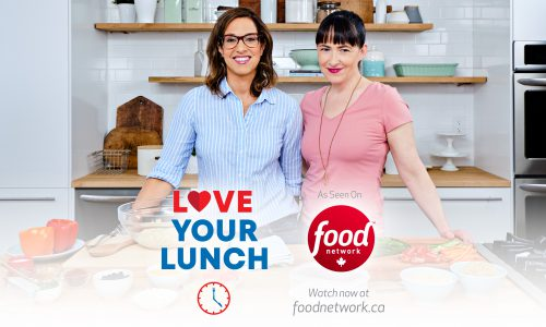 Get Back to School Lunches with Love Your Lunch, our digital series on Food Network Canada