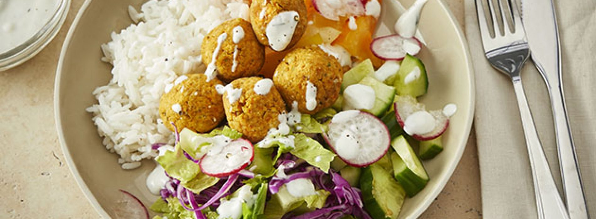 Sweet Potato Falafel Bowls
