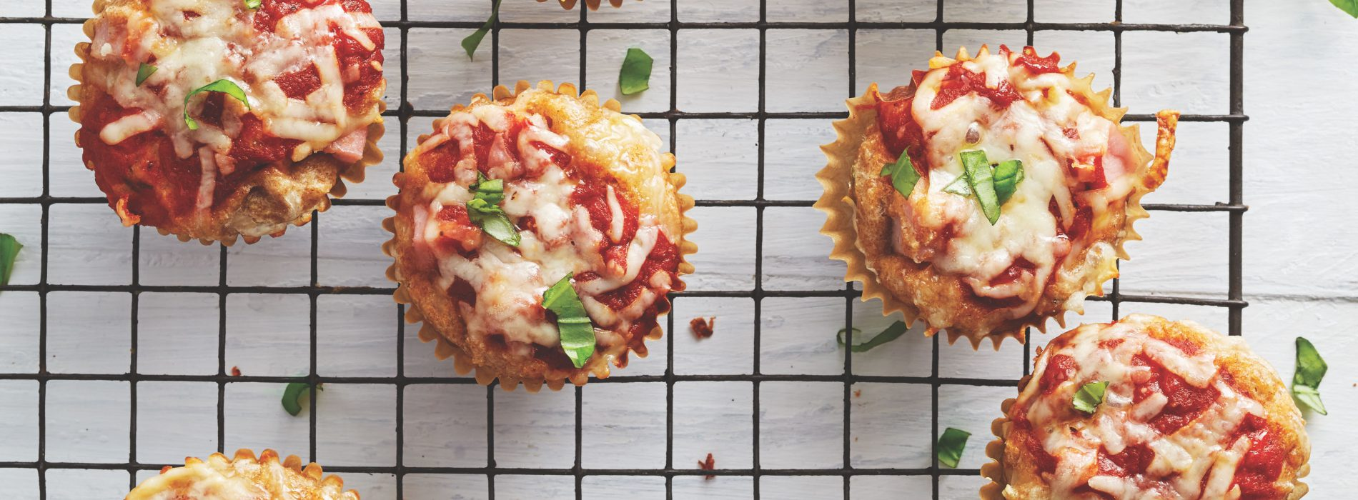 The School Year Survival Cookbook: Hawaiian Pizza Muffins