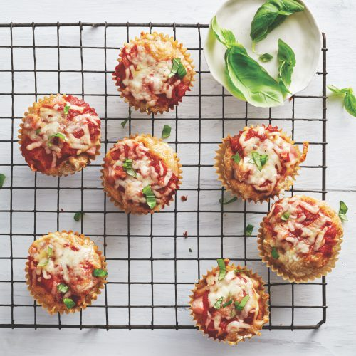 The School Year Survival Cookbook: Hawaii Pizza Muffins