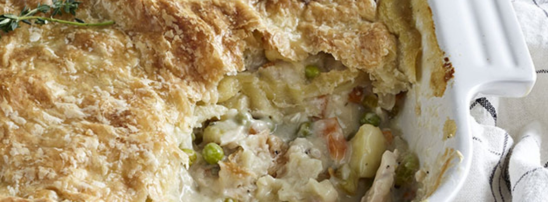Scarlett's Turkey Pot Pie