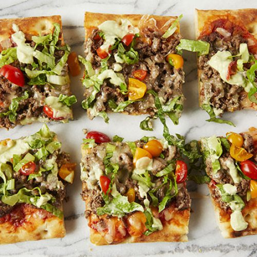 Flatbread Taco Pizza