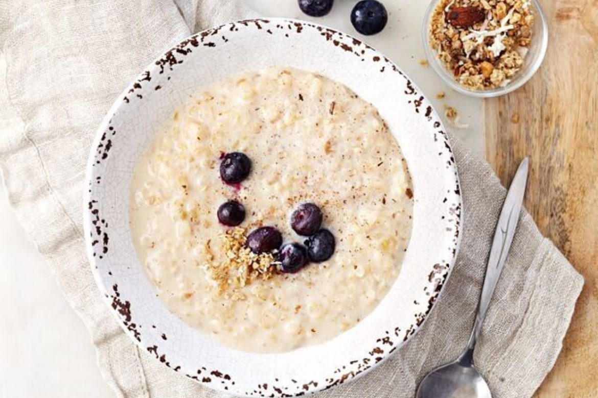 Slow Cooker Overnight Rice Pudding