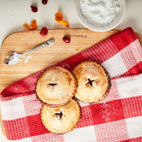 Cranberry and Orange Hand Pies