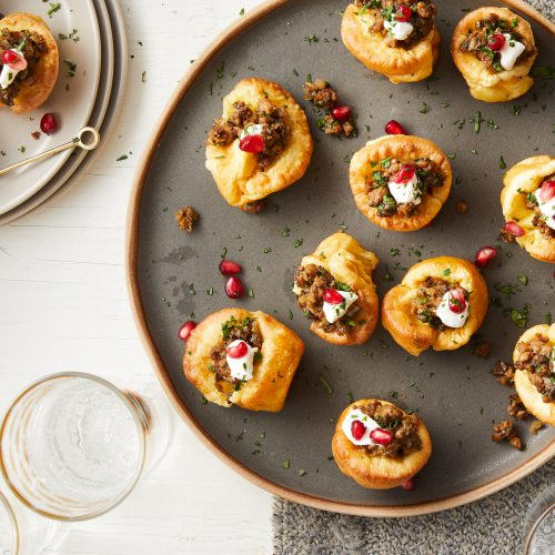 NYE Appetizers including our Favorite Vegetarian Versions