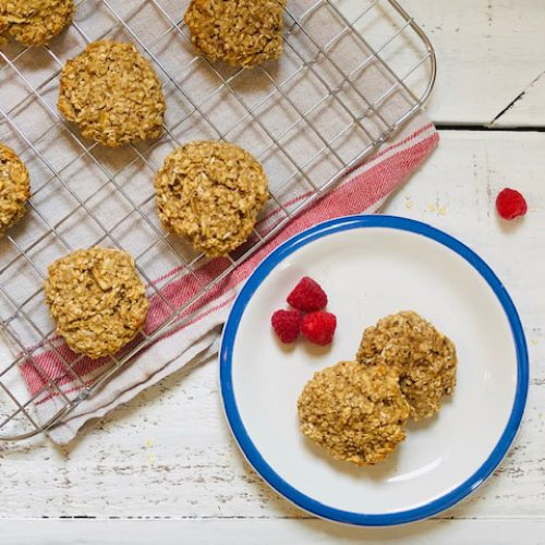 Apple Cardamom Breakfast Cookies