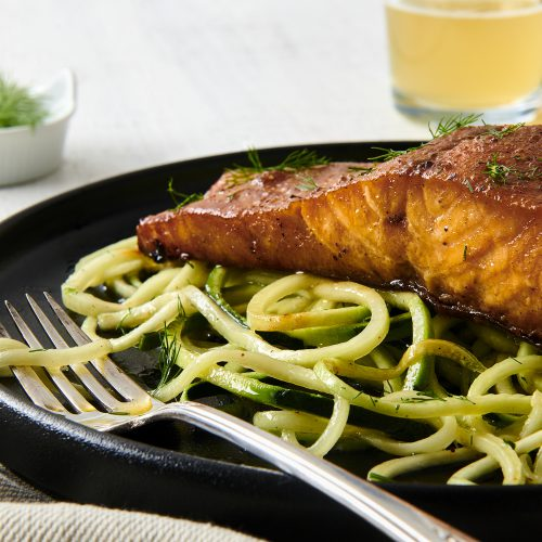 Spiced Brown Sugar Salmon