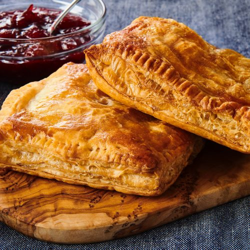 Pastry Pockets with Turkey, Sweet Potato and Cranberry (Thanksgiving Leftovers)