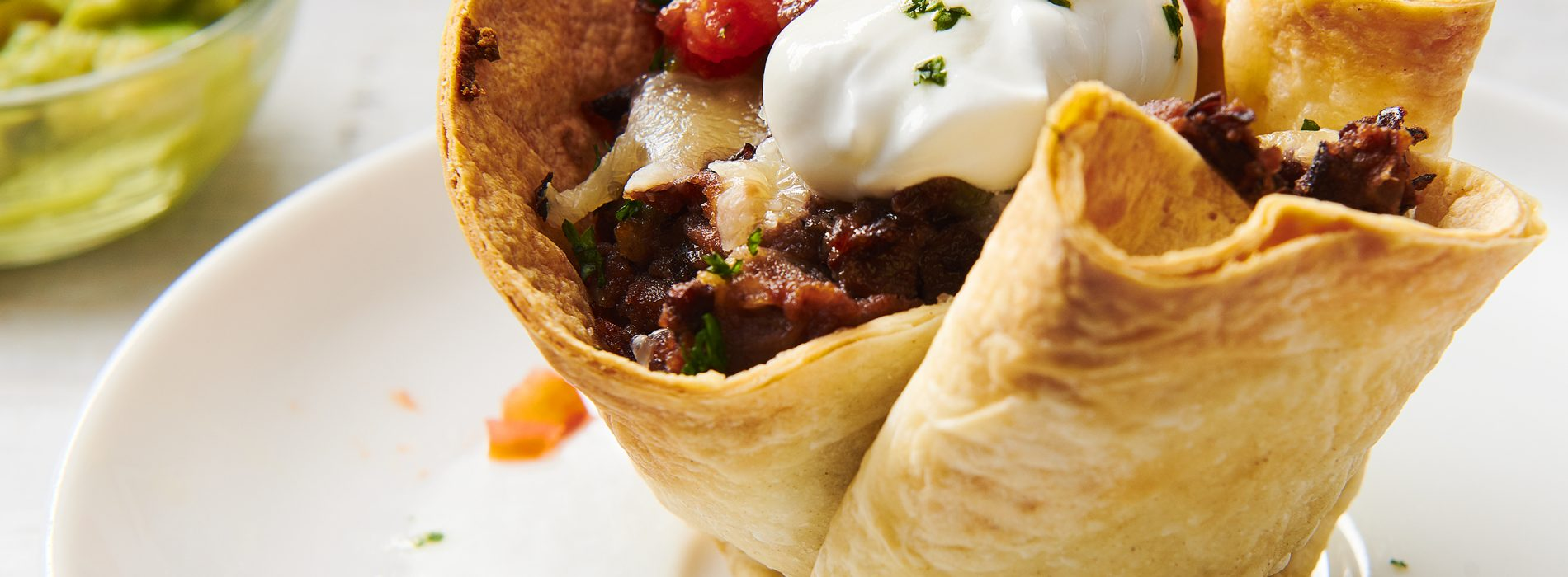 Spicy Black Bean Enchilada Cups